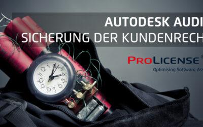 Autodesk Audit – Sicherung der Kundenrechte