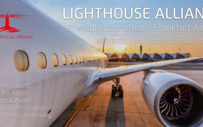 8. Lighthouse Alliance Mitgliedertreffen – SAP Lizenzoptimierung, Autodesk Audit, das neue IBM IASP-Programm und Vieles mehr