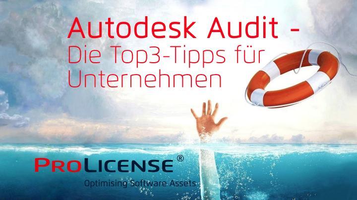 Autodesk Audit – Die Top3-Tipps für Unternehmen
